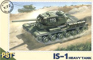 Модель советского тяжелого танка ИС-1 PST 72001