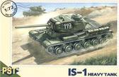 Модель советского тяжелого танка ИС-1