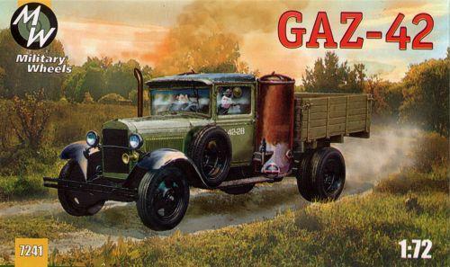 Советский грузовой автомобиль ГАЗ-42 Military Wheels 7241