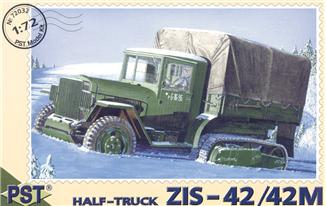ZiS-42/42M WWII Soviet half-truck PST 72032