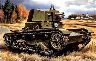 Танк T-26 с башней А-43 UMT 314