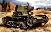 Танк T-26 с башней А-43