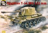 Танк T-34 с 122 мм самоходным орудием D-30