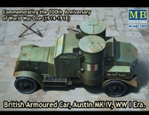 Бронеавтомобиль Austin Mk.IV, 1914-1918