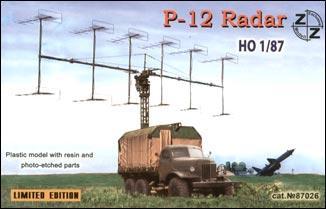 Советская радиолокационная станция П-12 ZZ MODELL 87026