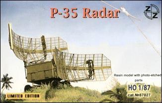 Советская радиолокационная станция П-35 ZZ MODELL 87027