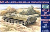 Гусеничный транспортер МТ-ЛБ