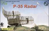 ZZ72001 P-35 Soviet radar, resin/pe