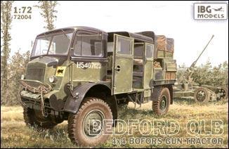 Bedford QLB 4x4 BOFORS gun tractor IBG Models 72004
