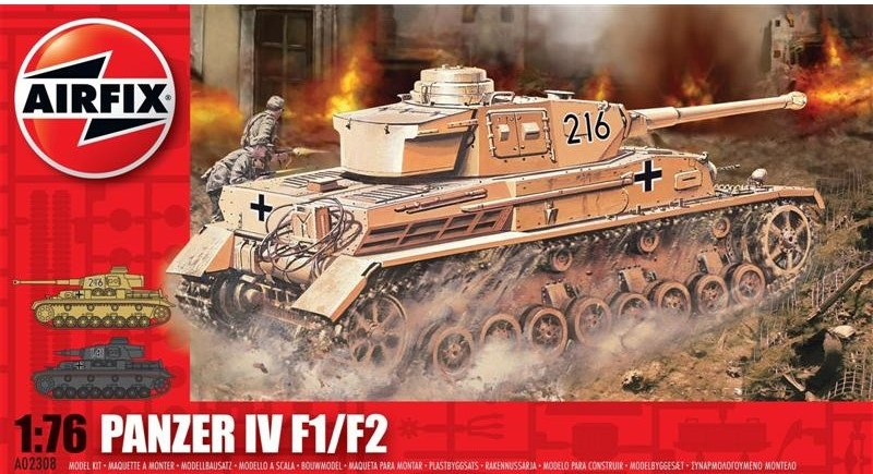 Танк Panzer IV F1/F2 Airfix 02308