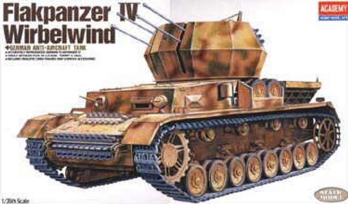 Немецкая ЗСУ Flakpanzer IV Wirbelwind Academy 13236