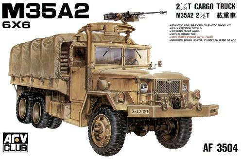 Грузовик M35A2 2 -1/2 TON CARGO TRUCK Afv-Club 35004