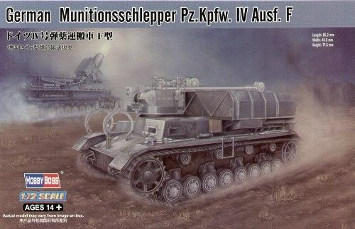 Немецкий танк Munitionsschlepper Pz.Kpfw. IV Ausf. F Hobby Boss 82908