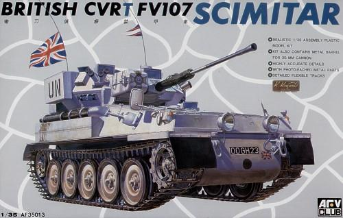BRITISH CVR(T) FV107 SCIMITAR Afv-Club 35013