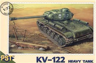 Пластиковая модель танка КВ-122 PST 72009