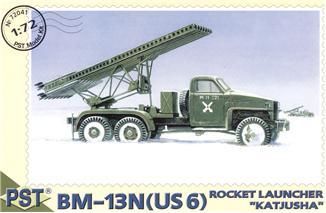 BM-13N(US 6) 'Katjusha' Soviet rocket launcher PST 72041