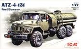 Советский автозаправщик ATZ - 4 - 131 ( длина 9,8 см )