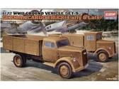 WWII GROUND VEHICLE SET - 5 1/72