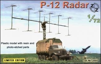 Советская радиолокационная станция П-12 ZZ MODELL 72005