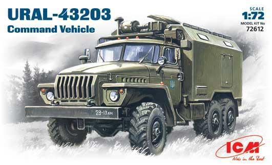 Подвижный командный пункт Урал-43203 ICM 72612