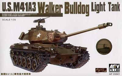 M41A3 WALKER BULLDOG LIGHT  TANK Afv-Club 35041