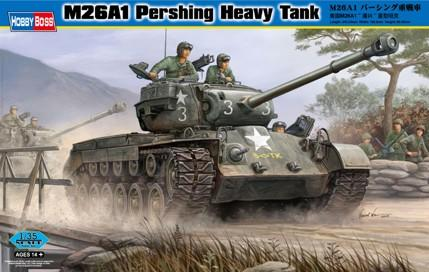 M26A1 Pershing Heavy Tank Hobby Boss 82425