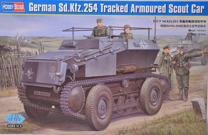 Немецкий гусеничный бронированный автомобиль разведчик Sd.Kfz.254 Hobby Boss 82491