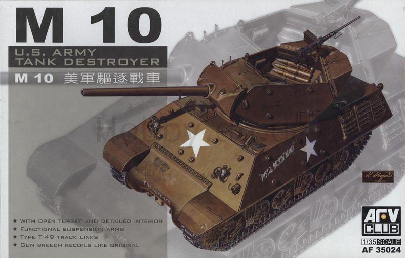 Истребитель танков США M10 Afv-Club 35024