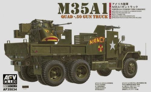 Грузовик M35A1 с орудием (вьетнамская война) Afv-Club 35034