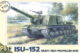 Сборная модель самоходной артиллерийской установки ИСУ-152 PST 72004