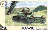 Масштабная модель танка КВ-1С