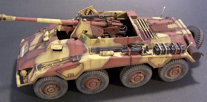 Бронеавтомобиль Sd.kfz. 234/4 Roden 709