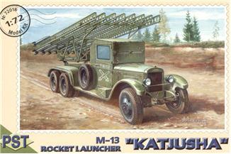 Сборная модель Катюша М-13 PST 72018