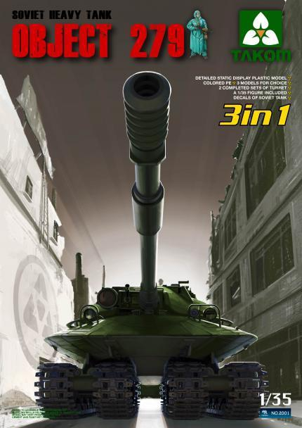 Танк Объект 279 (3 в 1) Takom 2001