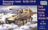 Истребитель танков Sd.Kfz.138 M Мардер III от Unimodels