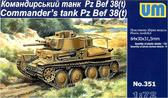 Командирский танк Pz. Bef. 38(t)