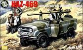 Автомобиль УАЗ-469 оснащенный 106-мм пушкой