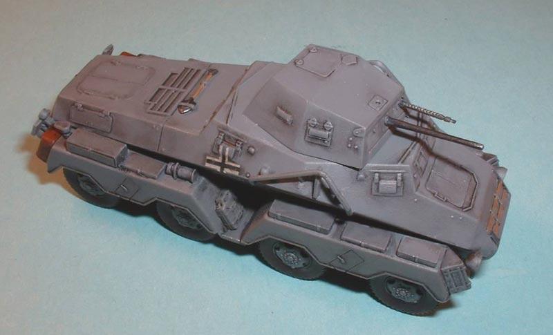 Бронеавтомобиль Sd.Kfz. 231 (8-RAD) Roden 702