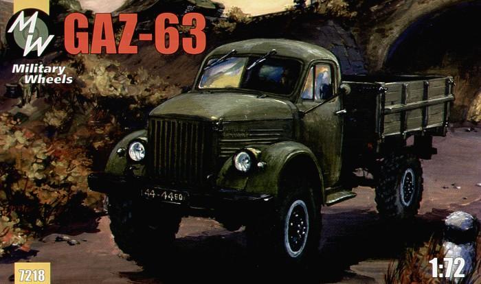 Советский грузовой автомобиль ГАЗ-63 Military Wheels 7218