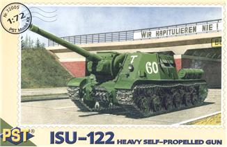 Масштабная модель самоходной артиллерийской установки ИСУ-122 PST 72005