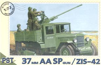 ZiS-42 with 37mm AA SP gun PST 72033