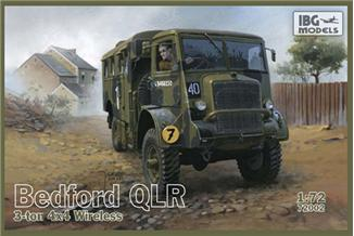 Bedford QLR 3 ton 4x4 Wireless IBG Models 72002