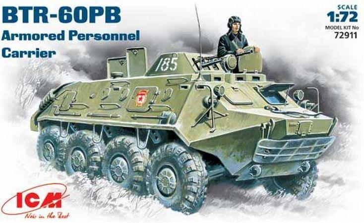 Бронетранспортер БТР-60ПБ ICM 72911
