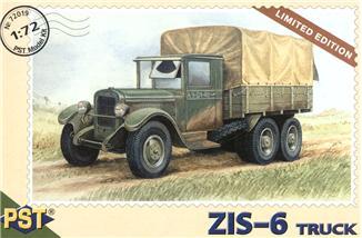 Сборная модель грузовика ЗиС-6 PST 72019