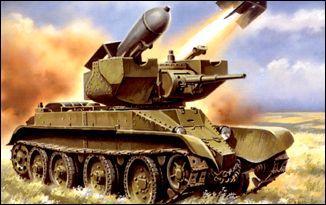 Колесно-гусеничный танк РБТ-5 UMT 313