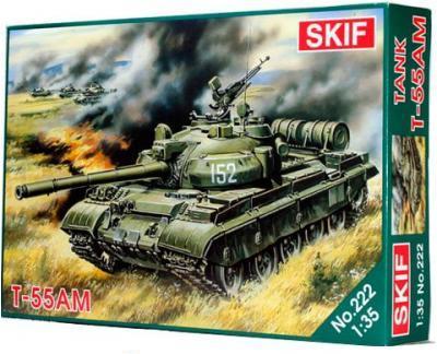 Cоветский Боевой Танк Т-55 АМ Skif 222