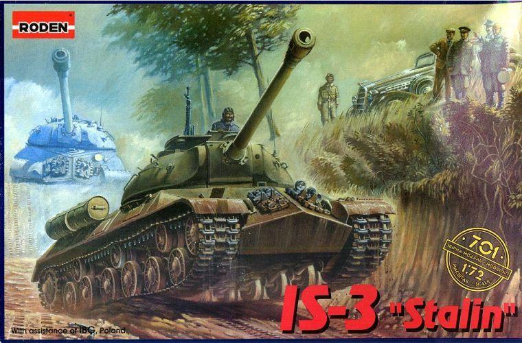 Танк ИС-3 ( 9,5 см в длину ) Roden 701