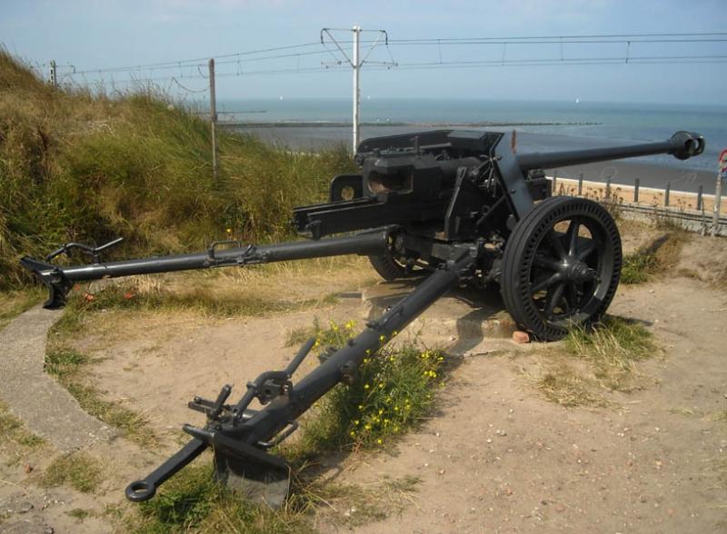 Германское 75-мм противотанковое орудие PAK-40 Roden 711