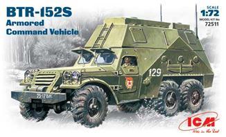 Бронированный автомобиль BTR-152S ICM 72511