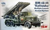 Советская боевая машина BM-13-16 Катюша